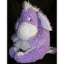 "Winnie the Pooh 12"" Gumdrop Super Curly Purple Plush Eeyore Doll"