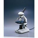 Frey Scientific Intermediate Microscope, 4X, 10X, 40XR Objectives, 110mm x 120mm Stage