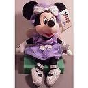Disney Bean Bag Plush Minnie Mouse Sugar Plum