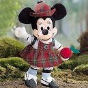 """September """"Back-to-School"""" Birthstone Minnie Mouse Bean Bag"""