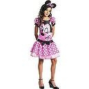 Teen Girls Pink Minnie Mouse Costume  Deluxe Disney Pink Minnie Mouse Girls Costume