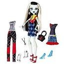 Monster High Exclusive Frankie Stein I Love Fashion Doll and 3 Outfit Set
