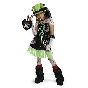 Monster Bride - Green - Size: Child M(7-8) Disguise Inc Monster Bride Costume (Accessories NOT included)