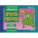 Monster Consonants Phonics Card Game