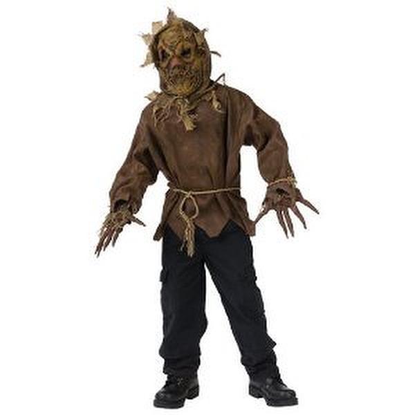 Scarecrow Child Costume Size Medium (8-10) Ghost face scarecrow child costume  sc 1 st  Toys to learn by & Scarecrow Child Costume Size Medium