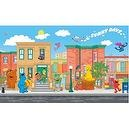 RoomMates JL1213M Sesame Street Prepasted Chair Rail Wall Mural