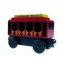"""Limited Edition Mr. Rogers Neighborhood Wooden Trolley Set of 3"""