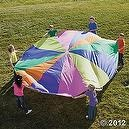 12 Super Sturdy Parachute - Party - Teaching Supplies