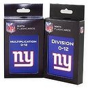 NFL New York Giants Multiplication and Division Flash Cards