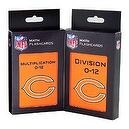 NFL Chicago Bears Multiplication and Division Flash Cards