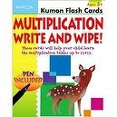 Multiplication Write and Wipe Flash Cards