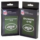 NFL New York Jets Multiplication and Division Flash Cards
