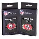 NFL San Francisco 49ers Multiplication and Division Flash Cards