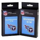 NFL Tennessee Titans Multiplication and Division Flash Cards