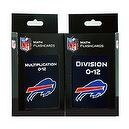 NFL Buffalo Bills Multiplication and Division Flash Cards