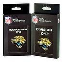 NFL Jacksonville Jaguars Multiplication and Division Flash Cards
