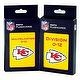NFL Kansas City Chiefs Multiplication and Division Flash Cards