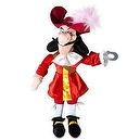 "Disney Store Disney Junior Jr. Jake and The Never Land/Neverland Pirates 20"" Captain Hook Plush Ragdoll Stuffed Doll Toy Gift"