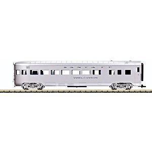 LGB G Scale Streamliner Observation Car - Atchison, Topeka And Santa Fe