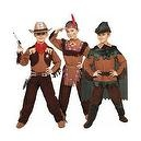 Cowboy/indian/peter Pan Child Costume - Small (4-6)  Cowboy/indian/peter Pan Child Costume