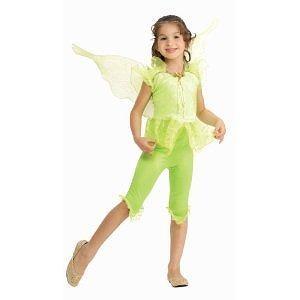Tinkerbell Costume - Toddler Rubies Kids Tinkerbell Green Fairy Pixie Halloween Costume