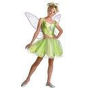Disguise Disney Faeries Tinker Bell Child Costume  Tween And Teen Tinker Bell Costume