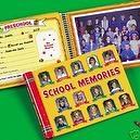 SCHOOL MEMORIES KEEPSAKE SCRAPBOOK ALBUM K-12 BOOK