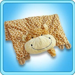 My Pillow Pets Giraffe Blanket