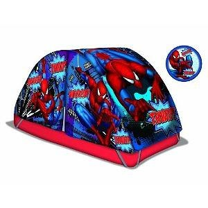 Marvel Spiderman Bed Tent with Pushlight