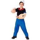 Popeye Child Costume Child (Large (12/14))  Child Popeye Costume