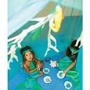 Silk Under Sea Canopy by Sarahs Silks  Sarahs Silks Ringed Gauze Canopy