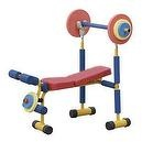 Redmon Fun and Fitness Exercise Equipment for Kids - Weight Bench Set  Redmon Fun and Fitness Exercise Equipment for Kids