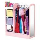 Guidecraft See and Store Dress Up Center Design: Pastel  Guidecraft See-and-Store Dress-up Center