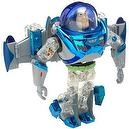 "TOY STORY 2: 8"" Deluxe Rocket Blasting Buzz Transformer (Metal Morphers)"