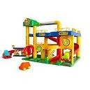 Wader Garage And Ramps Playset With Cars