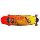 Lost Rocket Cruiser Complete Surf Skateboards (Red, 34 X 9.5-Inch)