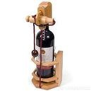 "Wine Accessory ""Dont Break The Bottle"" - The Corkscrew Edition Wooden Puzzle"