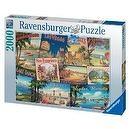 Vintage Vacations 2000 Piece Puzzle