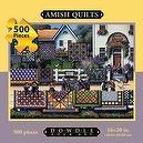 Dowdle Folk Art Amish Quilts 500pc 16x20 Puzzles