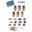 Miniland 6 Style World Kids Sewing Shapes