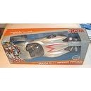 Speed Racer Action Figure with Removable Helmet and Mach 5 Car by Art Asylum. Mach 5 has awesome pearlized paint job with 5 on