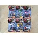 HOTWHEELS SPEED RACER POSEABLE FIGURES & BATTLE VEHICLE. COMPLETE SET OF 6 ACTION FIGURE 2-PACKS INCLUDING - ROLLIN THUNDER, RO
