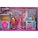 "Barbie & Kelly LETS GROCERY SHOP 27 Piece Playset TOYS""R""US Exclusive (2002)"