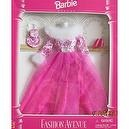 Barbie Deluxe Fashion Avenue Gown w Faux Fur Trim & More! (1995)