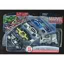 Marvel Universe ** Multi Pack 5 Vehicles ** Captian America / Kingpin Silver Surfer / Hulk / Punisher