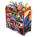 Spiderman Multi-Bin Toy Organizer
