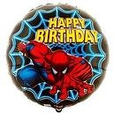 "Spider-Man Happy Birthday 18"" Foil Balloon  Party Destination Spider-Man Happy Birthday 18"" Foil Balloon"