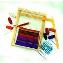 Harrisville Designs / Extra Value Lap Loom A with Two Complete Weaving Projects