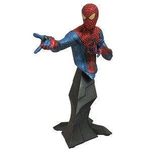 SDCC 2012 Amazing Spider-Man Movie Metallic Bust