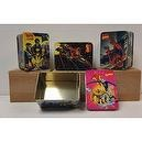 Spiderman, Xmen, Fantastic Four and Iron Man (Random Unit) Marvel Comics Assorted Collector Metal Tins